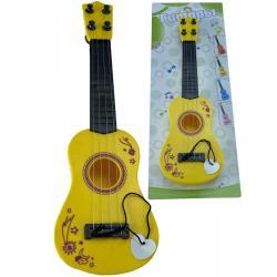 Гитара детская, цвет желтый