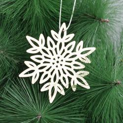 Сувенир-подвеска Снежинка 5, 8х9 см