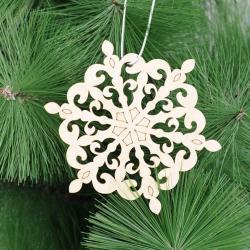 Сувенир-подвеска Снежинка 6, 10х10 см