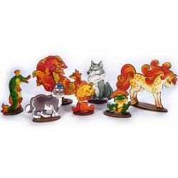 Мир русских сказок Сказочные животные