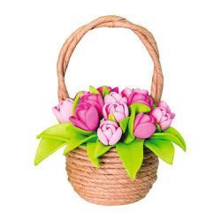Набор для творчества Тюльпаны в корзинке