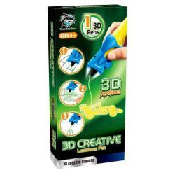 3D-ручка, детская, светящиеся чернила (цвет желтый)