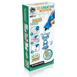 3D-ручка, детская (цвет синий)