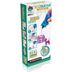 3D-ручка, детская (цвет фиолетовый)