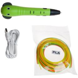 3D-ручка детская, зеленая (арт. 3D-PEN-SC-8-green)